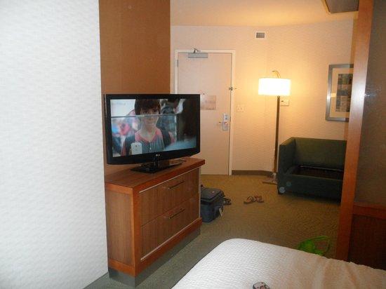SpringHill Suites Scranton Wilkes-Barre: Living room