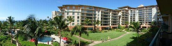 Honua Kai Resort & Spa : Panorama from our Lanai (Room 303)