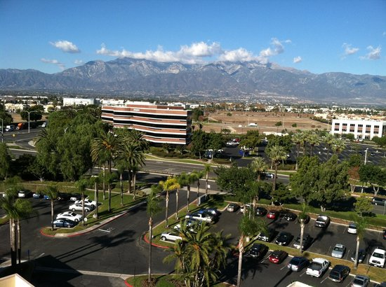 Ontario Airport Hotel and Conference Center: Balcony view