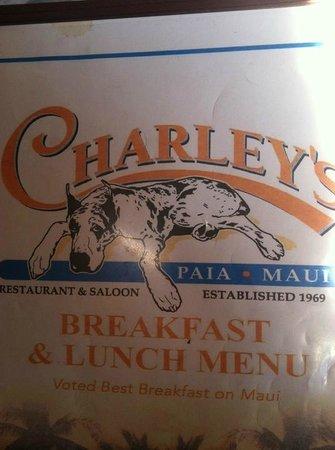 Charley's Restaurant: Breakfast