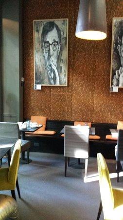 Esplendor Palermo Hollywood: Sala colazione e lobby