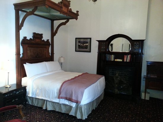 My room at the Lafitte Guest House & Gallery