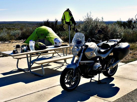 Seminole Canyon State Park and Historic Site: Campsite!