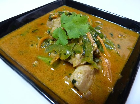 Panang curry picture of aroy thai cuisine tegucigalpa for Aroy thai cuisine