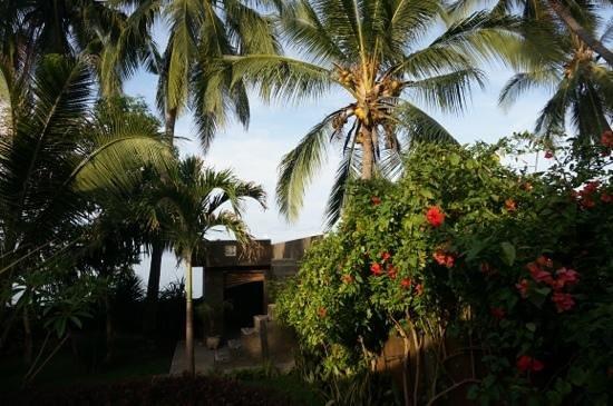 Villa Selina: Aussichtsplattform mit Garten