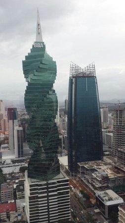Hotel Riu Plaza Panama : Skyline dalla camera