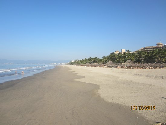 Occidental Nuevo Vallarta : Lots of beach to walk on