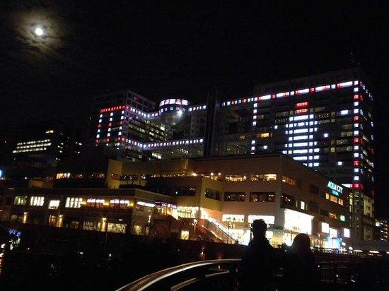 Fuji TV Odaiba: イルミネーション2