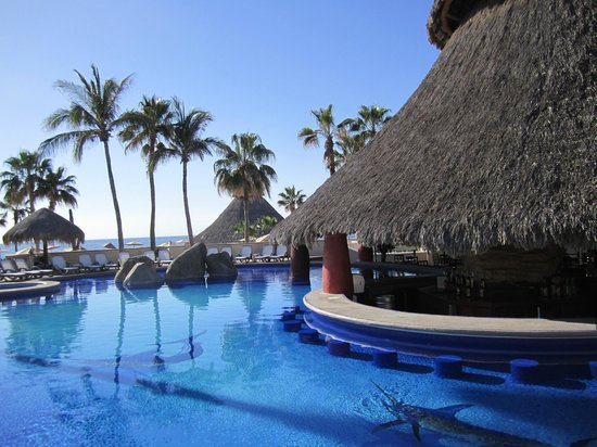 Swim up bar and agave restaurant picture of sandos finisterra los cabos cabo san lucas - Cabo finisterra ...