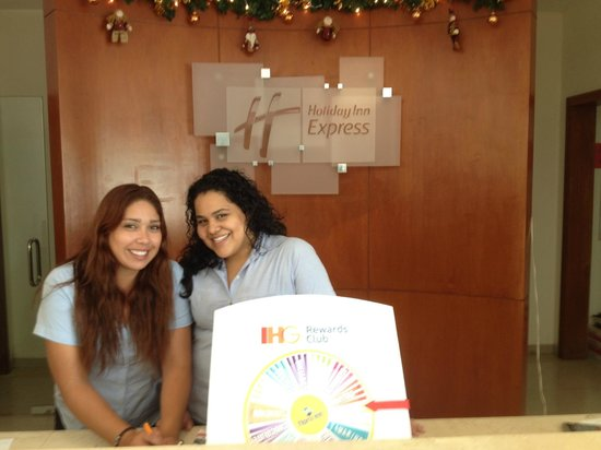 Wyndham Garden Playa Del Carmen: Friendly Front desk staff