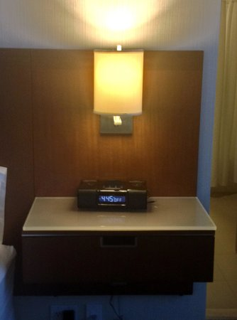 The Westin Houston Memorial City: nightstand by bed