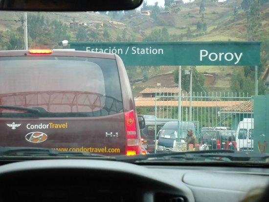 PeruRail - Vistadome: estacão