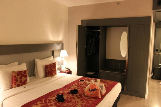 Hotel Palazzo Zichy : lots of storage spaces