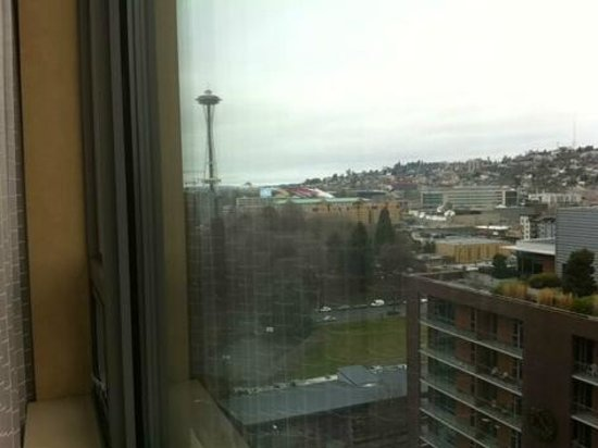 Pan Pacific Seattle: the view from my room