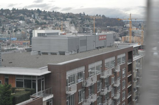 Pan Pacific Seattle: city view