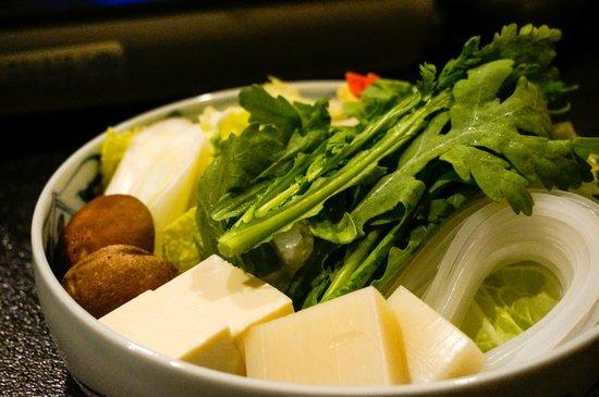 Rokkasen: Shabu Shabu veggies