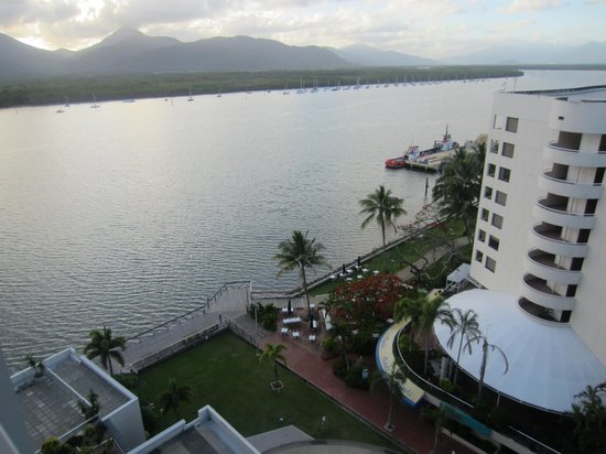 Cairns Harbour Lights: view from my balcony