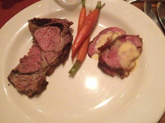 Deer Valley Seafood Buffet: Duck, Prime Rib, carots