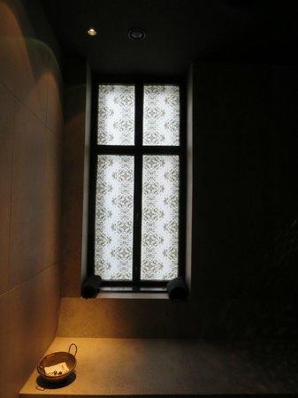 Hotel Hollmann-Beletage: window sauna spa suite