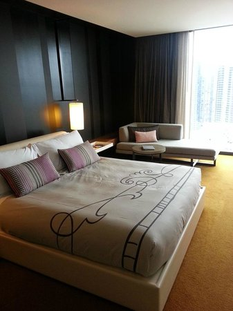 Crown Metropol Melbourne: Our room
