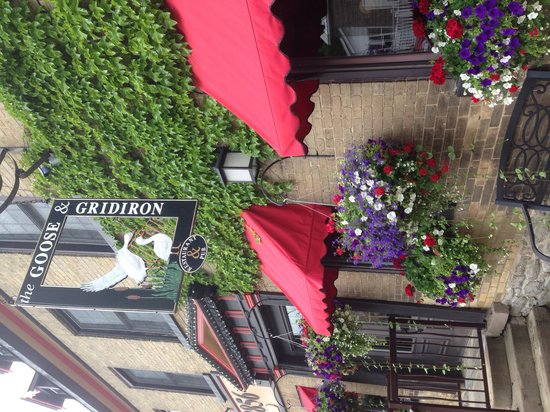 The Goose & Gridiron : Front entrance