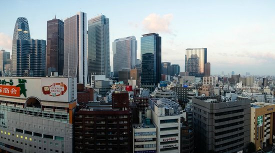 Shinjuku Prince Hotel: view from room 1525