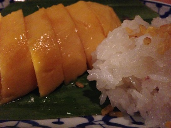 Soul Food Mahanakorn: mango sticky rice
