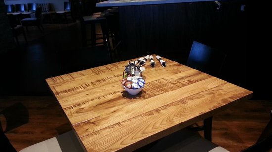 Cool New Wooden Tables Picture Of Alexanders Cafe Elgin Machost Co Dining Chair Design Ideas Machostcouk