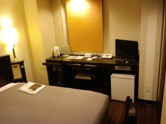 Nishitetsu Inn Kokura : 部屋は清潔です。