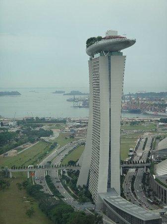 Marina Bay Sands: シンガポールフライヤより