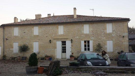 Chambres d'hotes Saint Emilion Bordeaux: Beau Sejour : Vista exterior