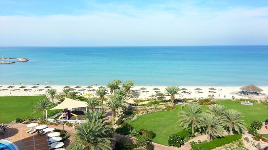 Danat Jebel Dhanna Resort : Lovely sea view