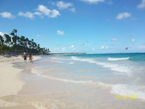 Grand Palladium Bavaro Suites Resort & Spa: Beautiful Beach!