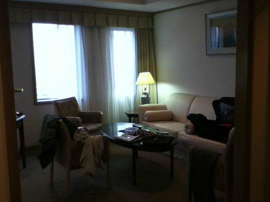 Kashima Central Hotel: リビング