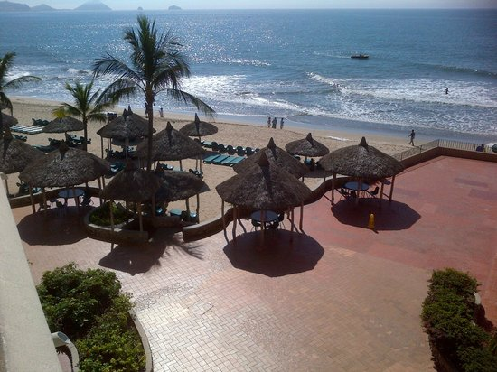 Hotel Playa Mazatlan: View from room