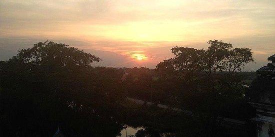 Wat Phu Khao Thong (Golden Mount): Paronarmic view from Wat Phu Khao Tong