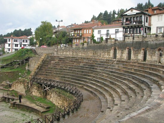 ‪Ancient Theatre of Ohrid‬