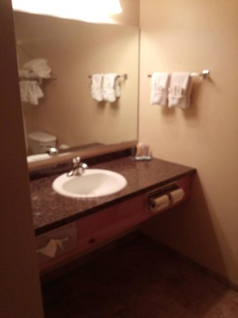 Arbuckle Lodge Gillette: bathroom