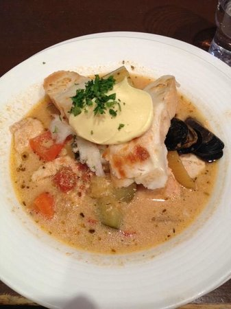 4 Vuodenaikaa : French fish soup