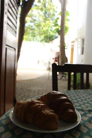 Villa Christophe: Breakfast view!