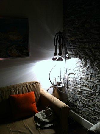 Hotel Rural 3 Cabos: Detalle lampara