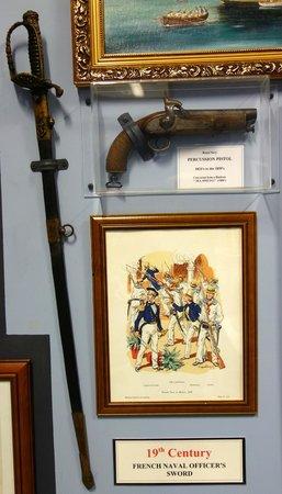 Warships & Marine Corps Museum: Weapons