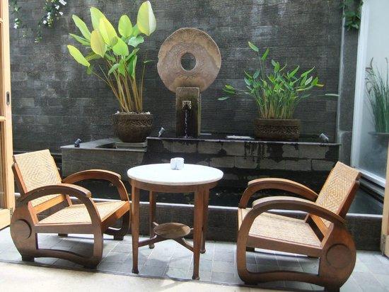 Villa Damar: cosy corner