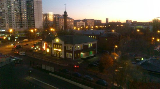 Holiday Inn Moscow Sokolniki : View from my room on 5th floor
