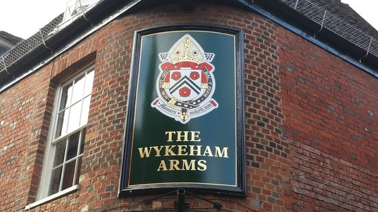 The Wykeham Arms Coat of Arms