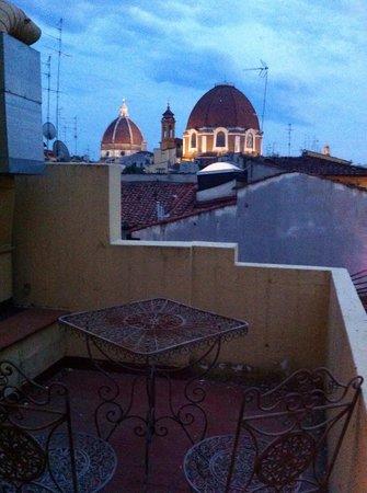 Hotel Atlantic Palace: Terrace