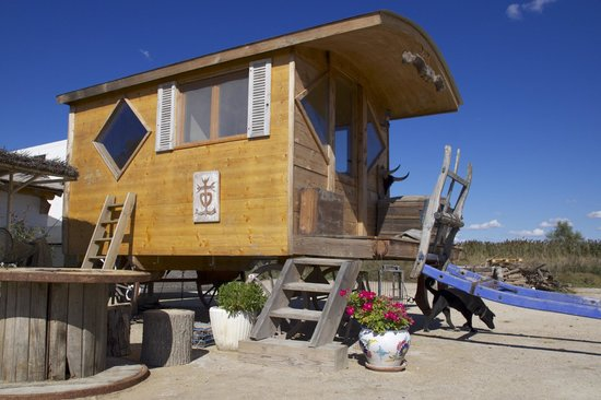 Awesome Cabanes De Cacharel : Roulotte Camarguaise