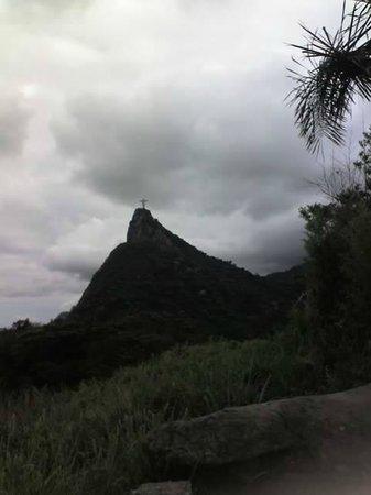 Ipanema Inn: Cristo visto do Mirante Dona Marta