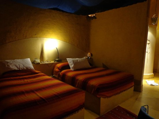 Kasbah Hotel Tombouctou: Bedden