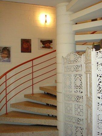 Hotel Interlaken: Лестница